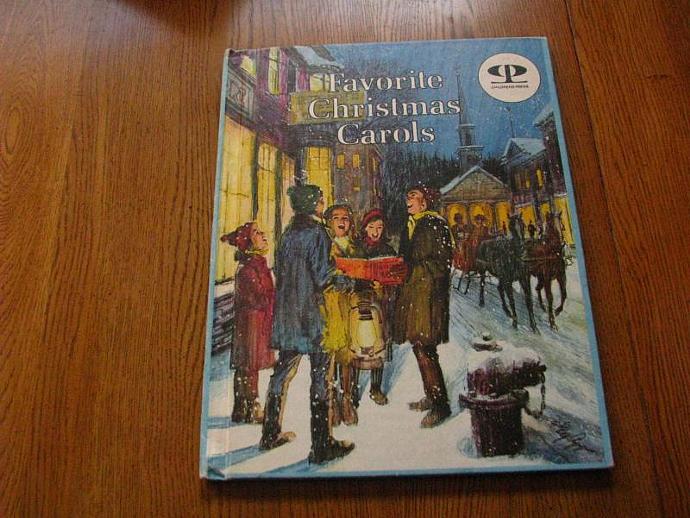 1976 Ideal Publishing- Christmas Press- Favorite Christmas Carols