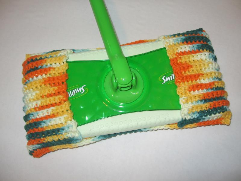 Reusable Crochet Swiffer Cleaning Pad Mimiandcolette