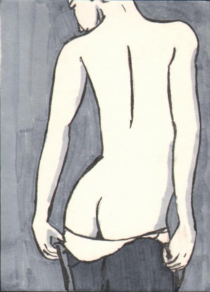 Girl stripping