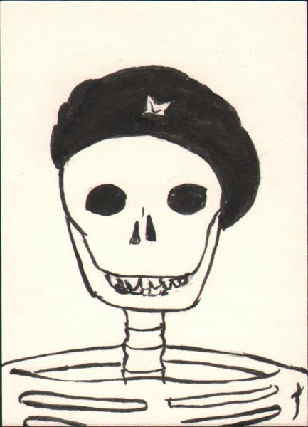 Skeleton Che