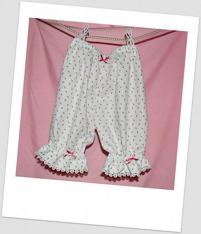 White Lacy Bloomers  Size 4/5
