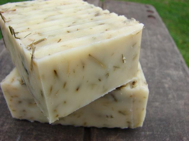 Lemongrass Herbal Bar Soap- Farm Fresh, Organic Soap, Vegan Soap, All Natural