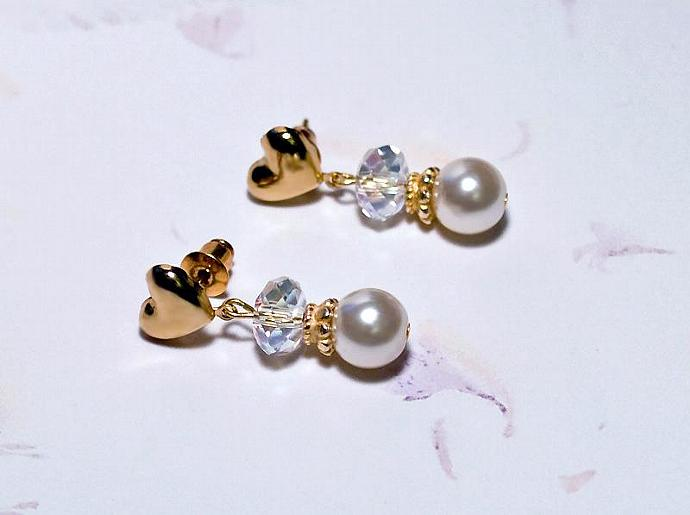 December Bride- earrings