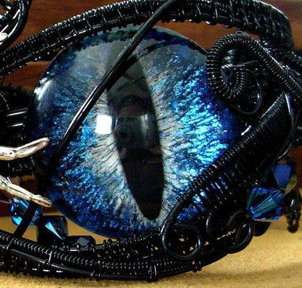 CUSTOM Just For You - 32mm Single Loose Eye - Evil Eye - Dragon Eye - Third Eye