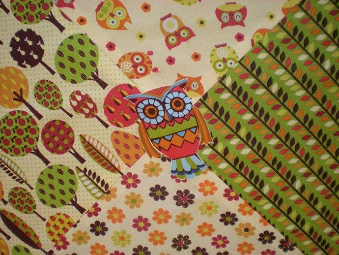 Playmat in Hooty Hoot