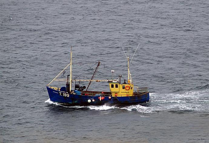 Trawling off the Dingle Peninsula-fine art photography