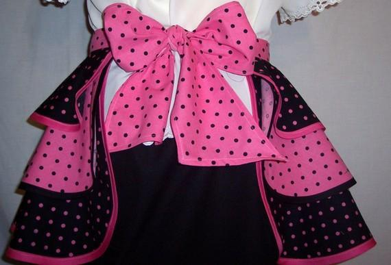 Frilly Amanda Hostess Apron