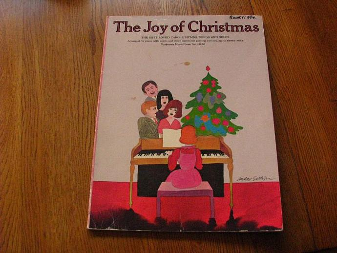 "1972 - ""The Joy of Christmas""- the best loved carols, hymns, songs and solos"