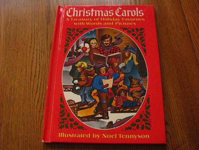 Vintage Christmas Carols- A Treasury of Holiday Favorites with words and