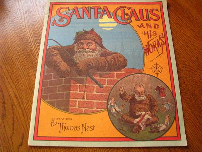 Santa Claus and His Works Illustrations by Thomas Nast
