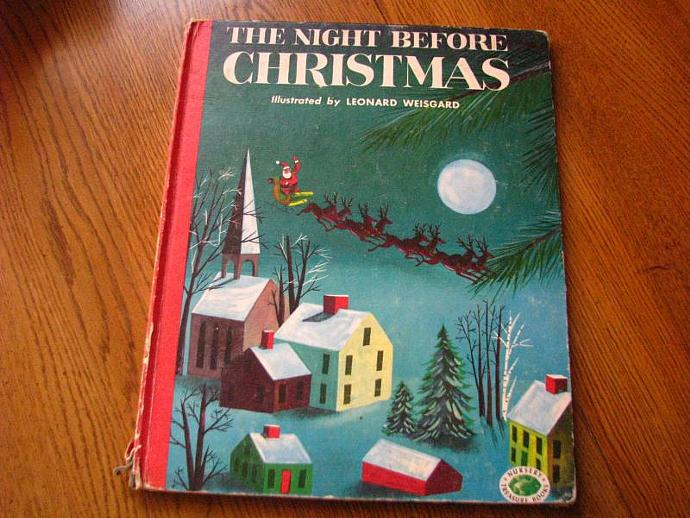 The Night Before Christmas Illustrated by Leonard Weisgard