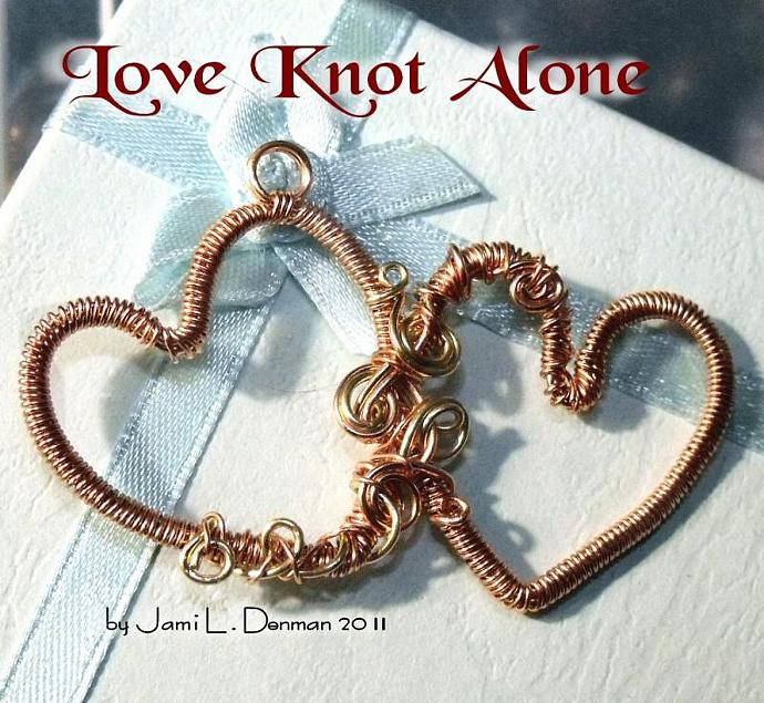 Love You More Doubel Heart pendant tutorial