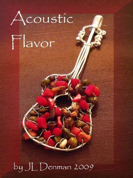 Acoustic Flavor Interchangeable Necklace Tutorial