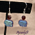 Elephant Glass Earrings
