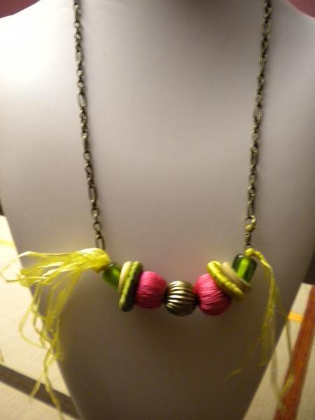 Firecracker Necklace