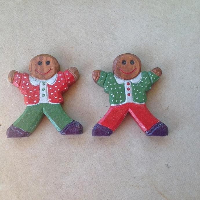 Ginger Bread Men & Santa Clause