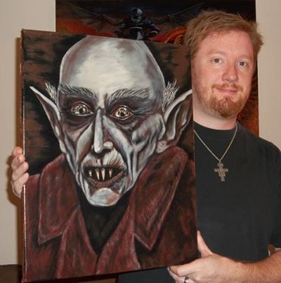 Nosferatu, painting