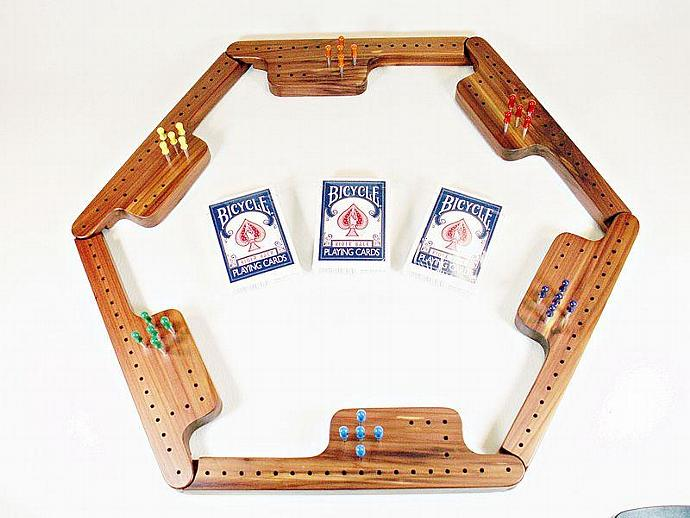Pegs & Jokers Game Set - Tennessee Red Cedar