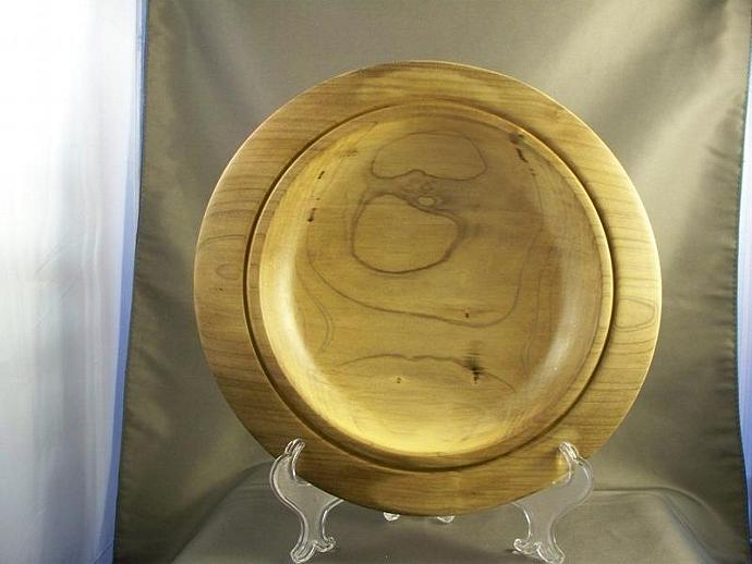Spalted Maple Platter