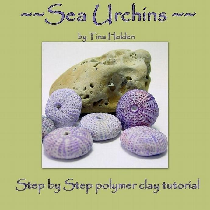 Molding and Making Sea Urchins and Beads - Polymer Clay Tutorial