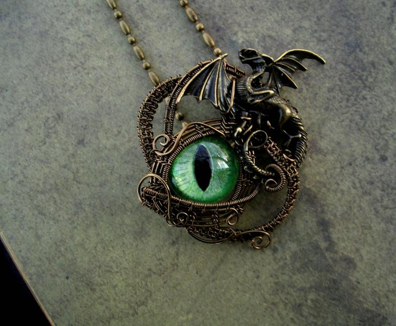 On Hold Wire Wrapped Gothic Steampunk Ladypirotessa