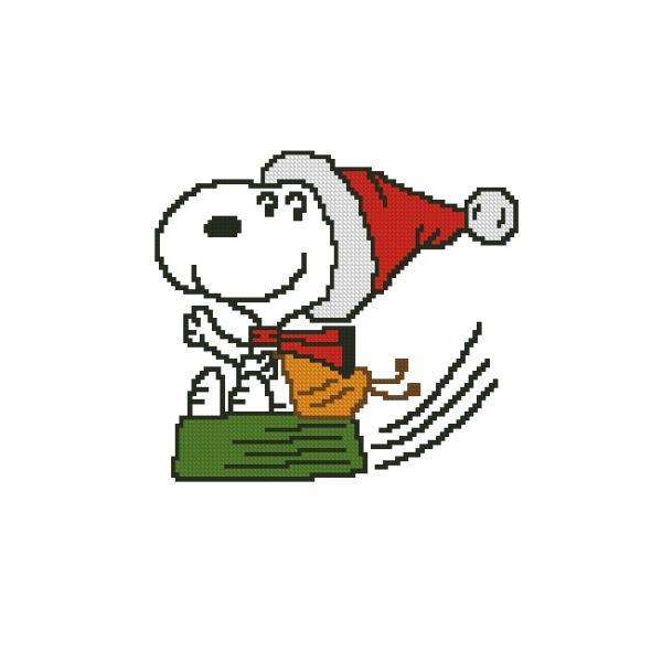 ALL STITCHES - SNOOPY CROSS STITCH PATTERN .PDF -885