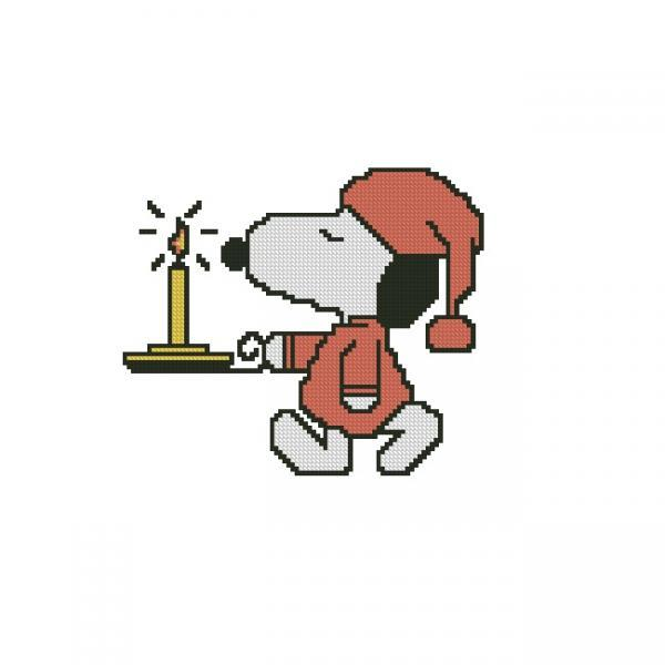ALL STITCHES - SNOOPY CROSS STITCH PATTERN .PDF -886