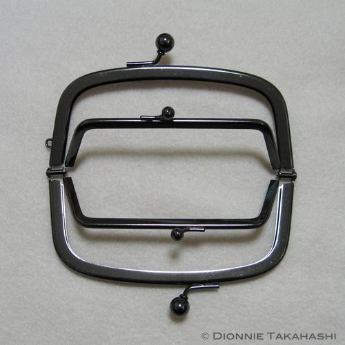 Purse Frame 12 cm - Double frame