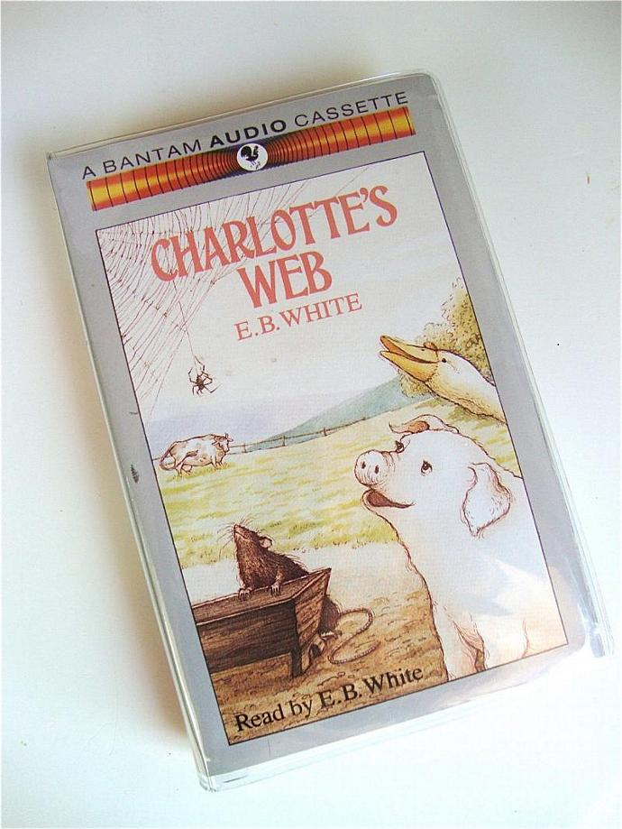 vintage classic children's story Charlotte's Web