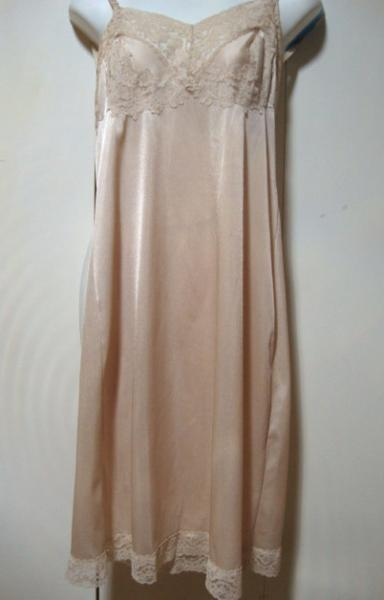 Vintage slip with lace from Saks 5th Avenue