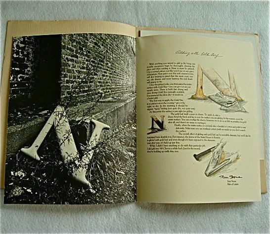 vintage Strathmore paper company folio