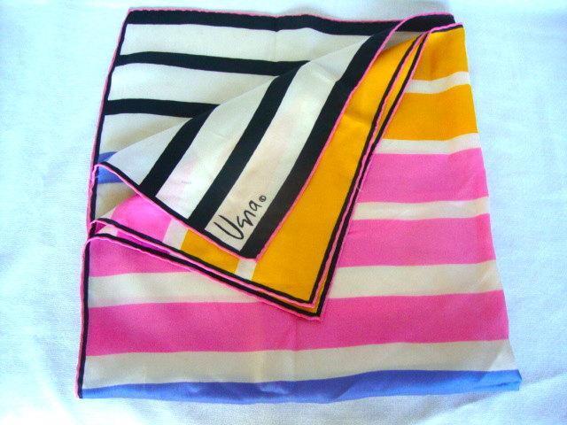 vintage Vera bold striped scarf