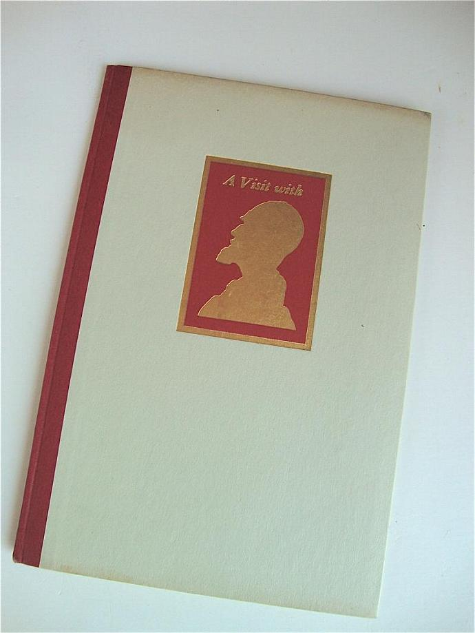 vintage ' a visit with George Bernard Shaw', a collectible keepsake
