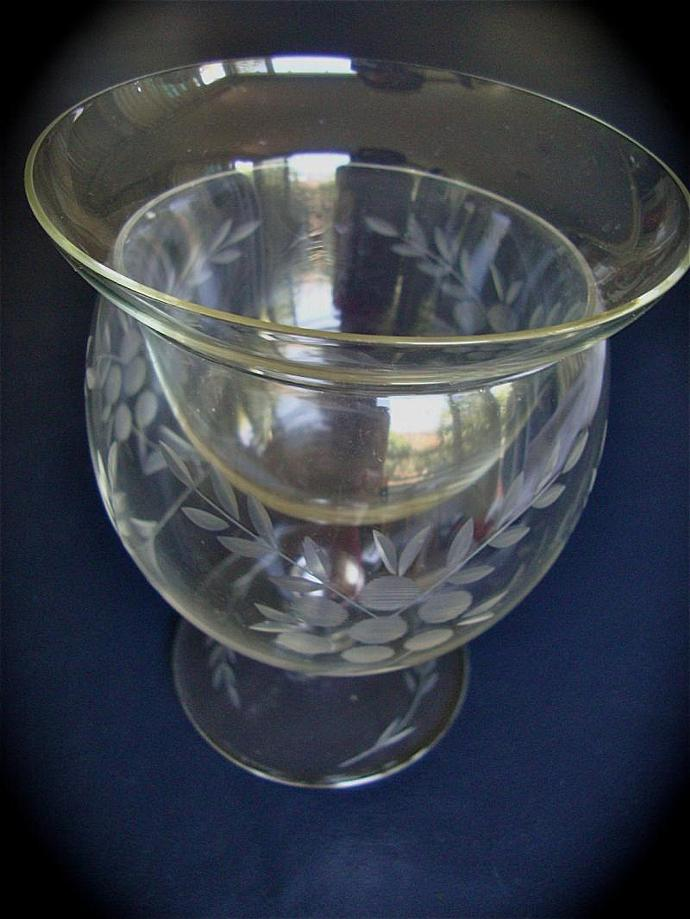 on sale Waterford City Irish crystal compote glass