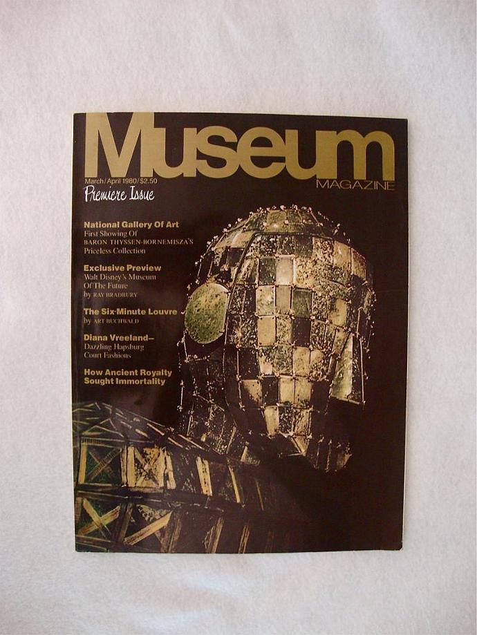 Museum Magazine, issue No1