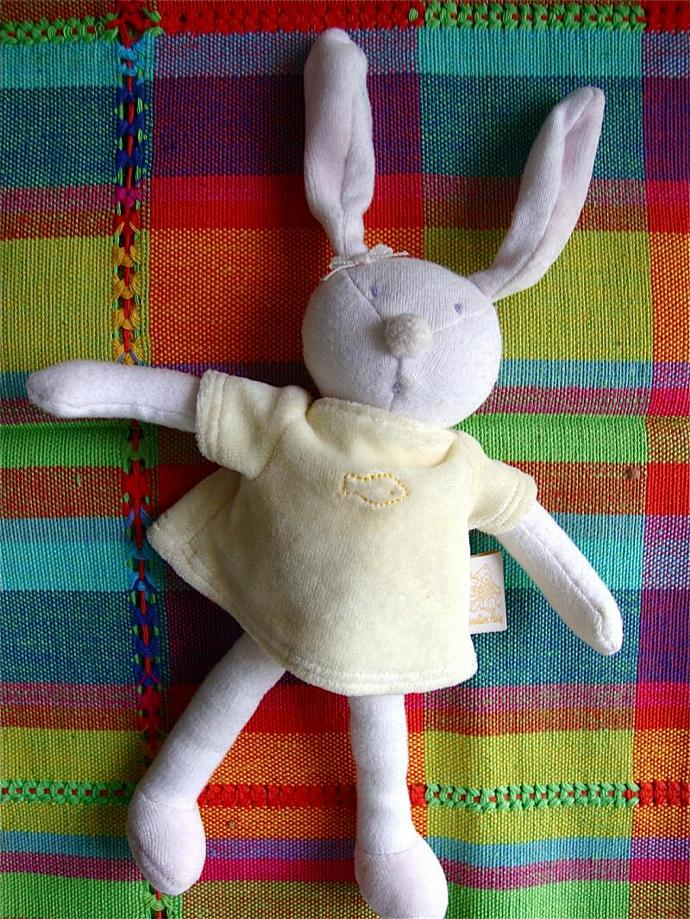 rabbit by Moulin Roty from France