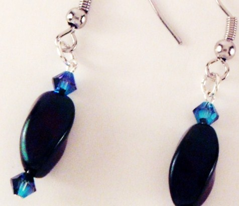 A Touch Of Blue Earrings