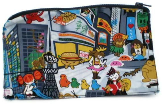 Anime Inspired Tokidoki Zip Pouch