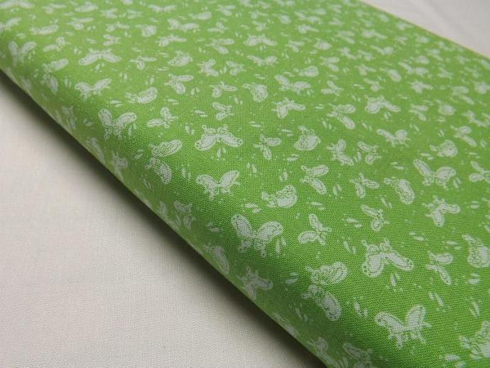 Bubbles and Butterflies, Lime Fabric, Lyndhurst Studios, Quilting, Sewing,