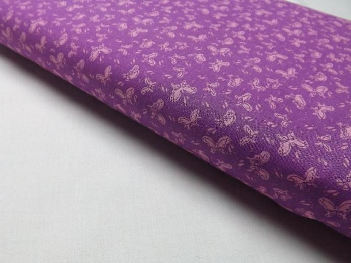 Bubbles and Butterflies, Purple Fabric, Lyndhurst Studios, Quilting, Sewing,