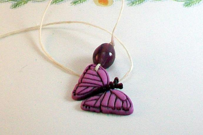 Lavender Butterfly Book Thong