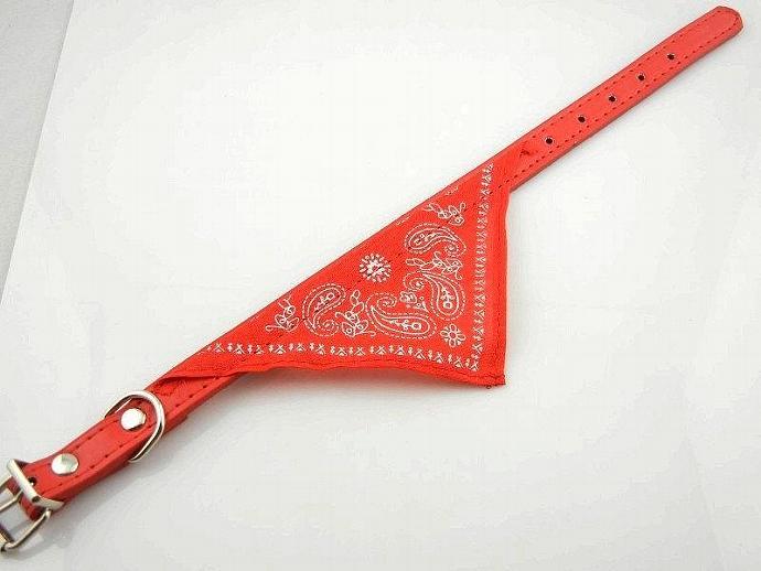 Dog Cat Bandana Lovely Medium Adjustable Pet  Scarf  Red  Collar Neckerchief