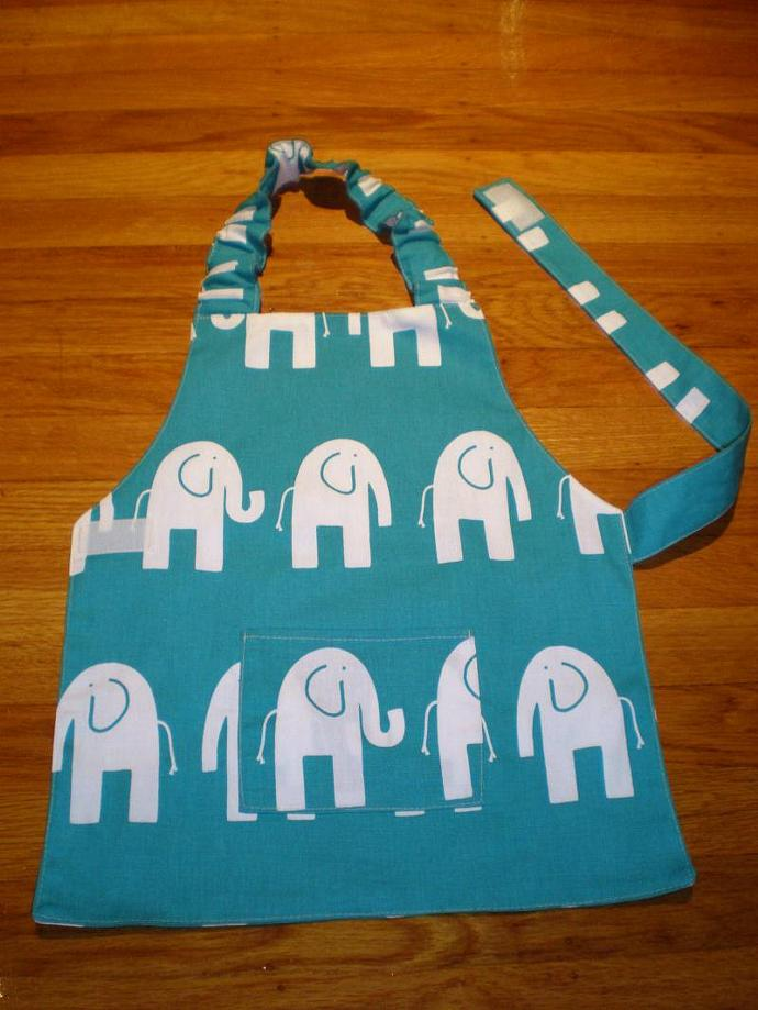 Elephant Kids Apron