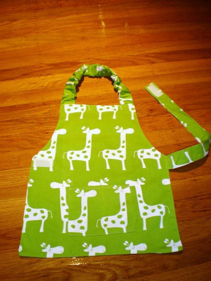 Giraffe Kids Apron