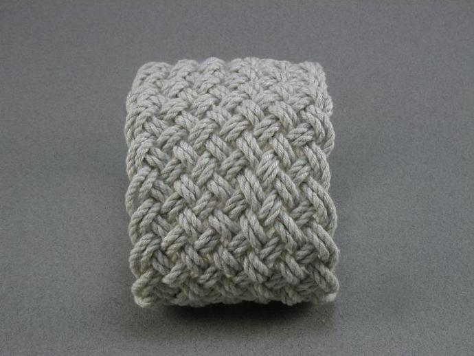 white adjustable turks head knot string bracelet kit 157