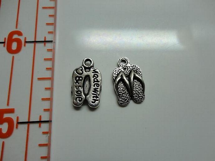 Sandal Charm - Silver