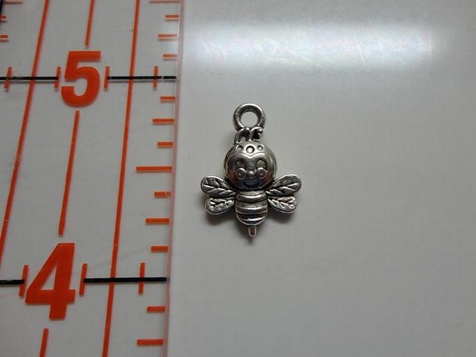 Bee Charm - Silver