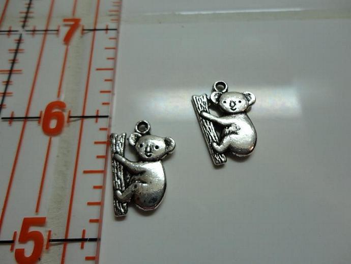 Koala Charm - Silver