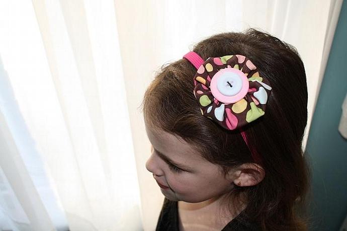 Yo-Yo Flower Bow