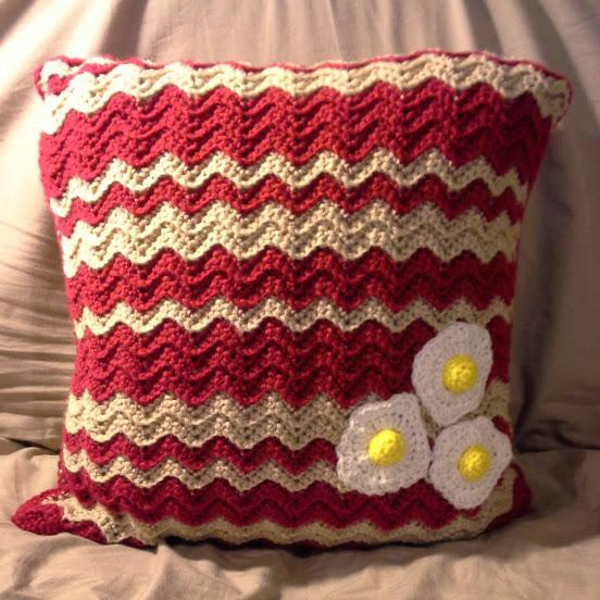Bacon and Eggs Pillow - Special Order